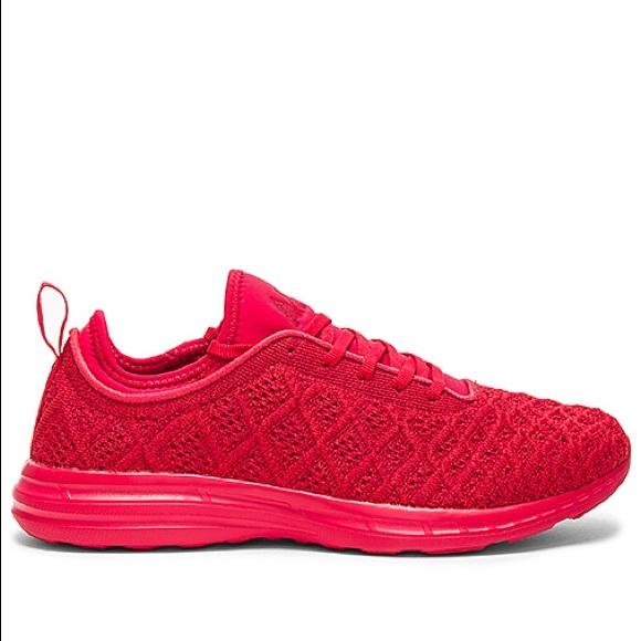 APL Shoes   Apl Techloom Phantom In Red
